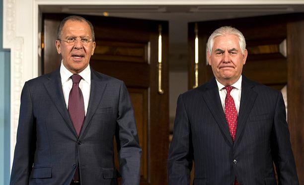 Ulkoministerit Tillerson ja Lavrov tapasivat Yhdysvalloissa aikaisemmin tällä viikolla.