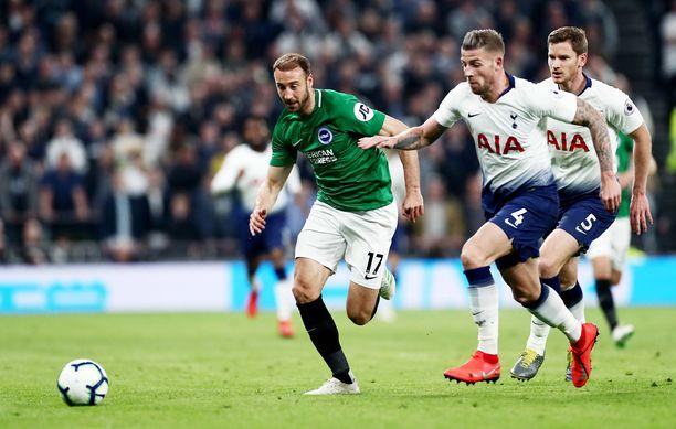 Brighton & Hove Albion oli nipistää pisteen matkaansa Tottenhamin uudelta stadionilta.