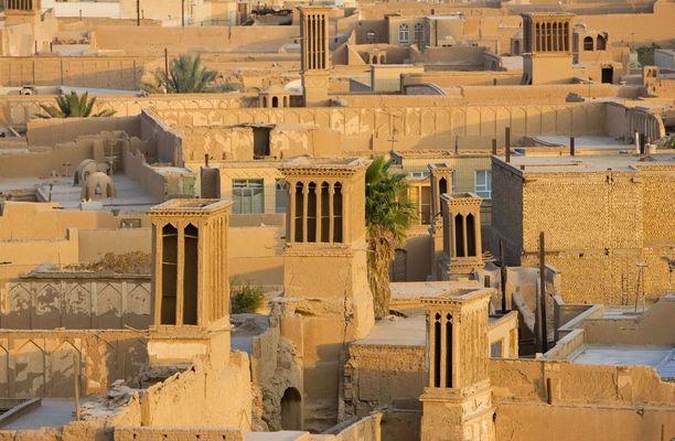 Yazdin historiallinen kaupunki Iranissa.
