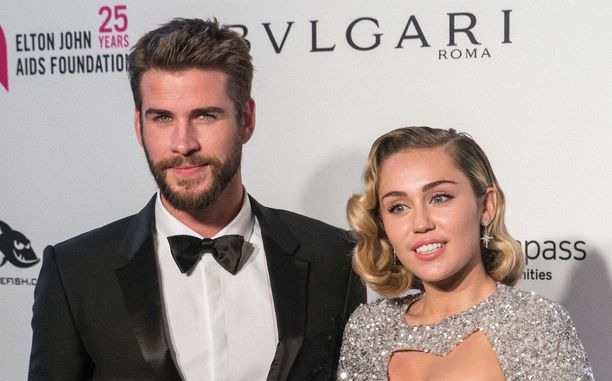 Liam Hemsworth ja Miley Cyrus pitivät yhtä kymmenen vuoden ajan.