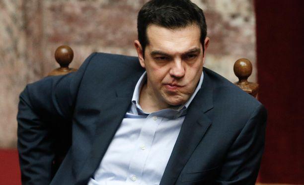 """Alexis Tsipras """"rakastaa Eurooppaa"""", eikä halua Kreikan jättävän euroaluetta."""