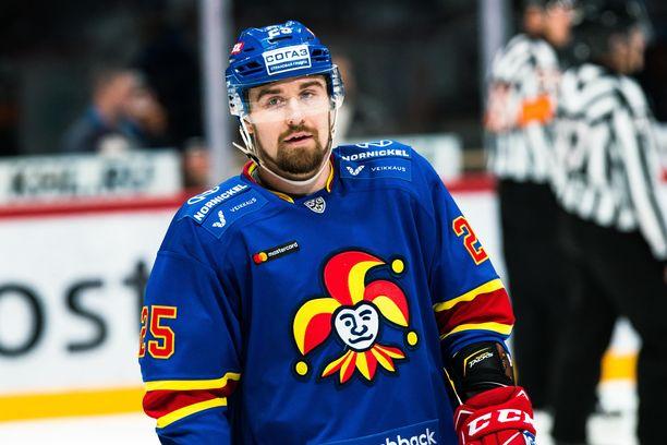 Pekka Jormakan KHL-ura jatkuu.