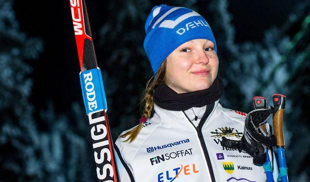 Eveliina Piippo selätti syömishäiriön ja tähtää maailman huipulle. Pirkkalalaisen valmentajana toimii Ville Oksanen.