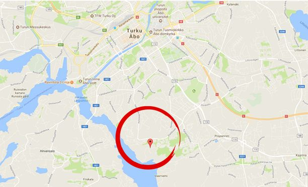 Hälytys Turun Ansarinkadulle saatiin kello 9.08.