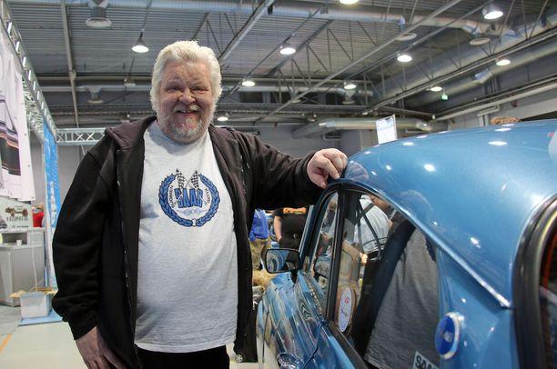 Juha Lehtonen on Saab-mies henkeen ja vereen.