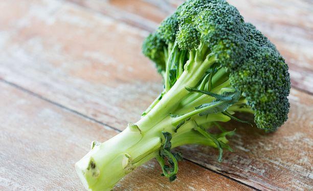 Säilytä parsakaalia kuin kukkaa.