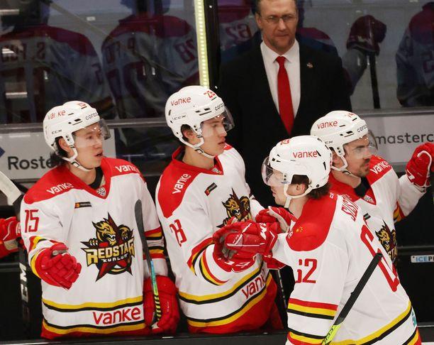 Kunlun Red Star valmistautuu KHL-kauteen.