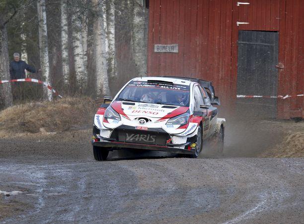Kalle Rovanperä hakee uransa ensimmäistä WRC-podiumia vasta toisessa startissaan.