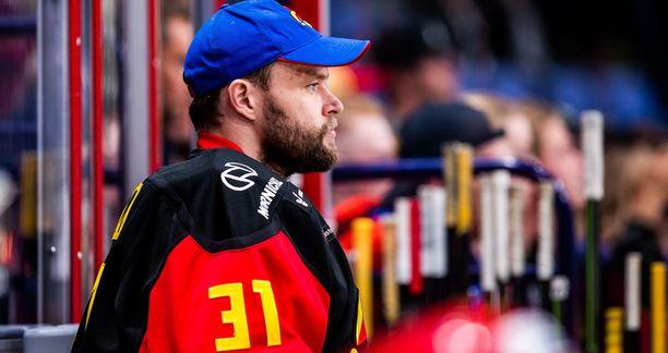 Stanley Cup -voittaja Antti Niemen rooliksi jäi Jokereissa pääasiassa varamaalivahdin osa.
