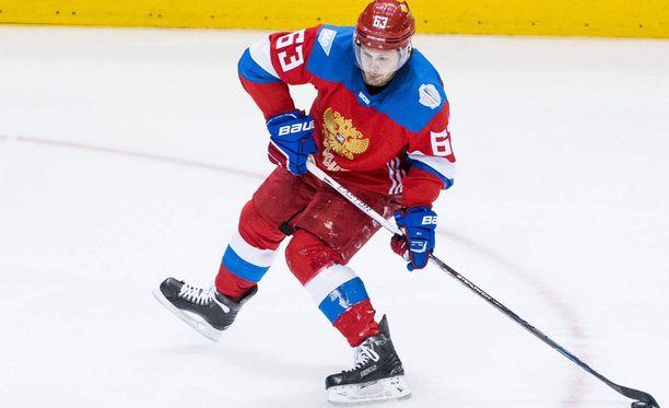 Jevgeni Dadonov on viime vuosina ollut tuttu näky Venäjän maajoukkueessa.
