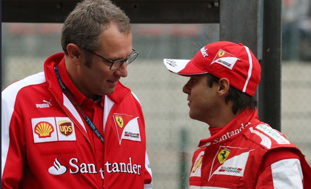 Stefano Domenicali pitäisi Felipe Massan Ferrarilla.