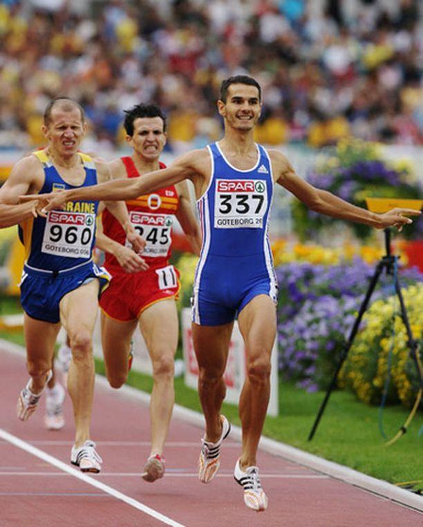 Mehdi Baalan ei tarvinnut irvistellä 1500 metrin loppusuoralla.