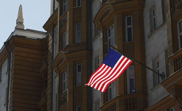 Venäjän Yhdysvaltain-suurlähetystön mukaan Yhdysvallat vainoaa venäläismediaa.