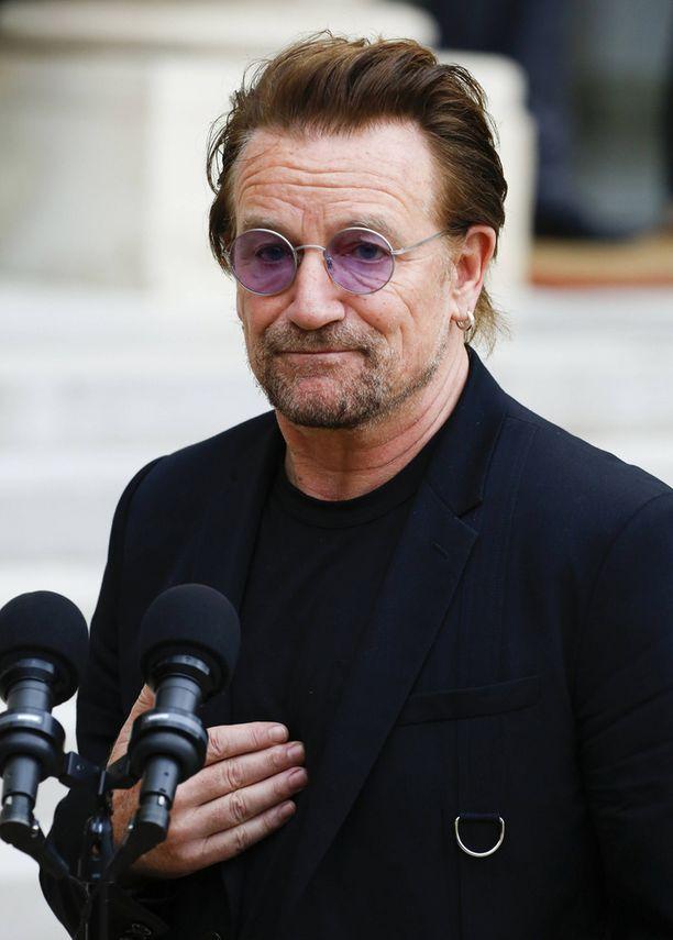 U2-yhtyeen laulaja Bono ei toistaiseksi ole kommentoinut kollegansa avautumista.