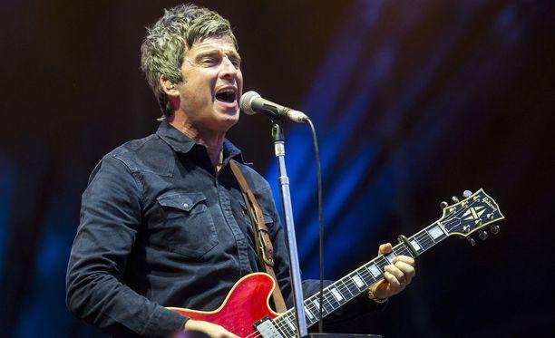 Noel Gallagher ei lämmennyt Scone Palacelle.