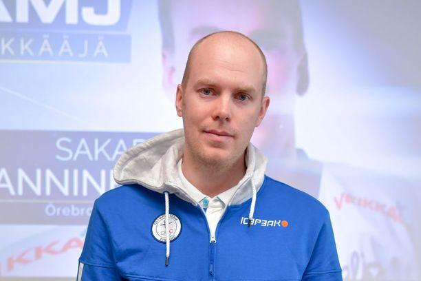 Mikko Koskisen ura jatkuu Edmonton Oilersissa.
