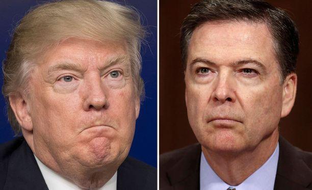 James Comeyn mukaan Trump on valehdellut usein. Valkoinen talo kiistää, että Trump valehtelisi.