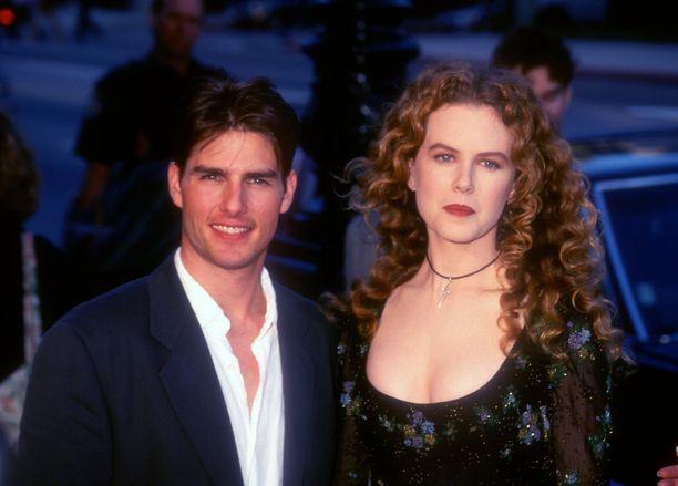Tom Cruise ja Nicole Kidman kuvattuna kesällä 1993. Kaksikko oli naimisissa vuodet 1990-2001.