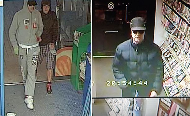 Helsingissä tapahtui lauantaina kaksi törkeää ryöstöä, joista se kaipaa vihjeitä. Saat jutun yhteydessä olevat kuvat suuremmiksi klikkaamalla niitä.