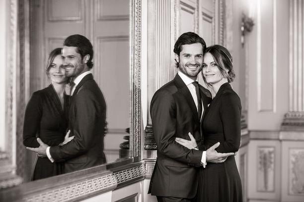 Prinssi Carl Philip ja prinsessa Sofia ovat kolmen pojan vanhemmat.