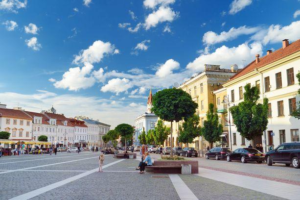 Vilnan vanhakaupunki on valittu Unescon maailmanperintöluetteloon vuonna 1994.
