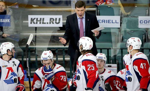 Aleksei Kudashov sai potkut Lokomotiv Jaroslavlin peräsimestä.