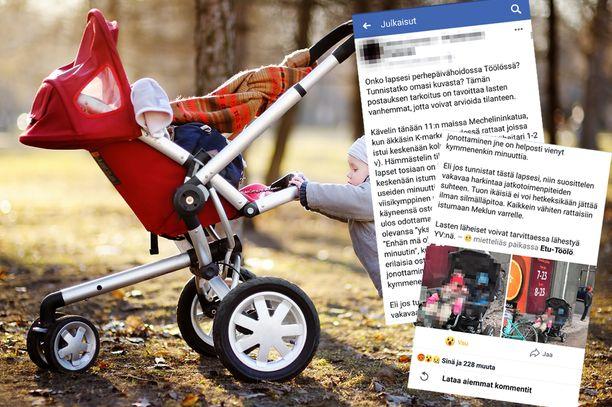 Yksin kaupan eteen jätetyt lapset huolestuttivat Facebook-ryhmässä. Kuvituskuvan lapset eivät liity tapaukseen.