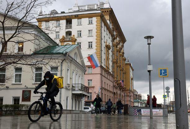 Toukokuun ensimmäisestä viikosta tulee Venäjällä lomaviikko. Kuva Moskovasta.