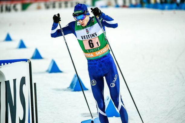 Ilkka Herola oli sunnuntaina paras suomalainen yhdistetyn maailmancupissa Lahdessa.