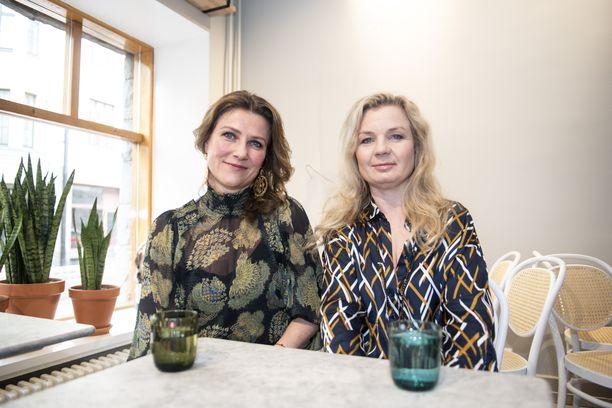 Norjan prinsessa Märtha Louise luennoi erityisherkkyydestä Elisabeth Nordengin kanssa.