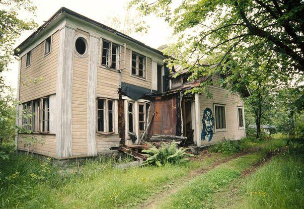 Villa Kissinge 15 vuotta sitten.