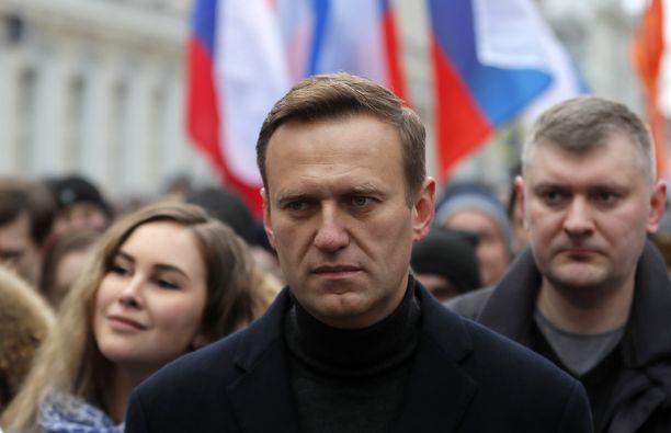 Venäjän tunnetuin oppositiojohtaja Aleksei Navalnyi.