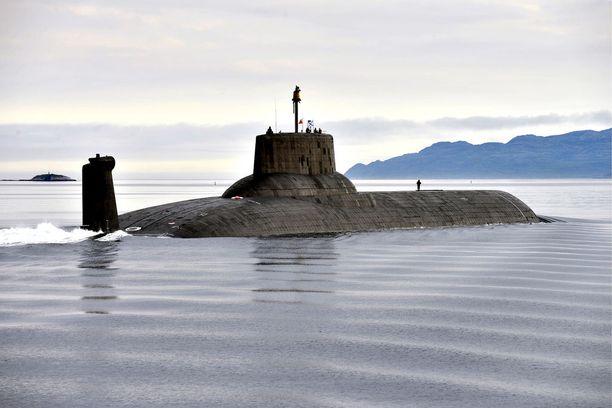 Maailman suurin ydinsukellusvene Dmitri Donskoi nähdään Suomenlahdessa lähipäivinä. Aluksen määränpää on Pietari.