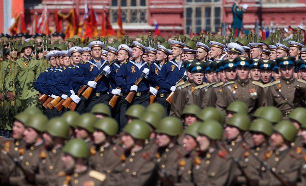 Moskovassa nähdään lauantaina yltiöpatrioottiset juhlallisuudet.
