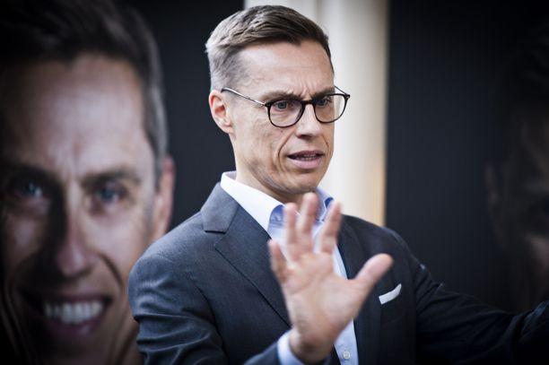 Stubb kiertää kampanjansa aikana ympäri Eurooppaa. Maanantaina hän oli Helsingissä.