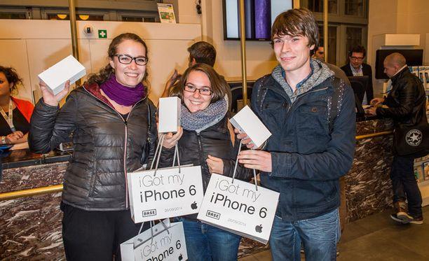 Uuden iPhonen lanseeraus herätti huomiota.