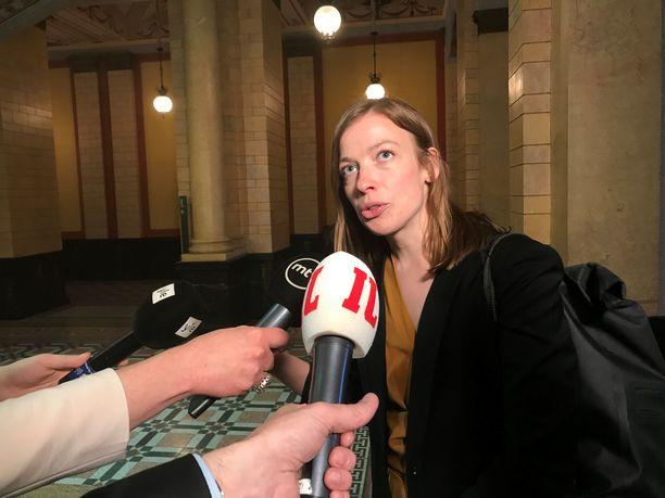 Li Andersson uskoo, että valitulla hallituspohjalla vasemmistoliitto saisi läpi sille tärkeitä asioita.