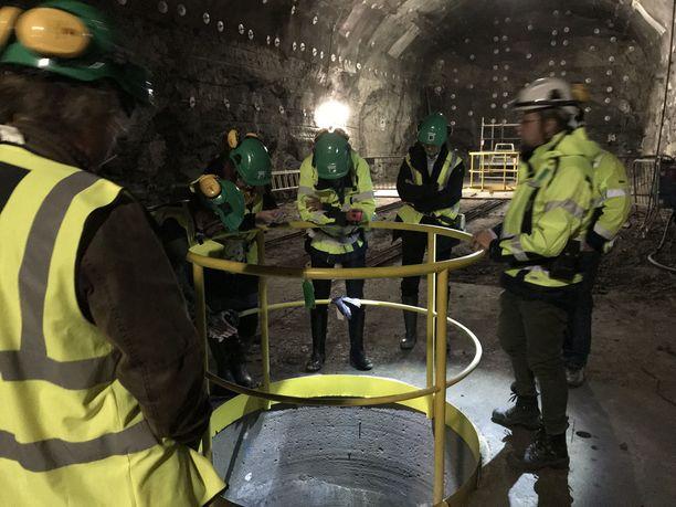 Onkalossa tehtävillä tutkimuksilla testataan käytetyn ydinjätteen loppusijoitustekniikkaa aidoissa olosuhteissa.