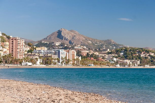 Rantalomailu onnistuu mainiosti Málagan sannoilla.