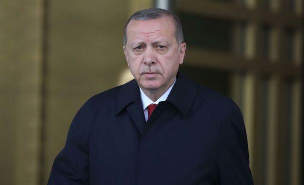 Turkin presidentti Recep Tayyip Erdogan pitää lännen vastaiskuja hyväksyttävinä.