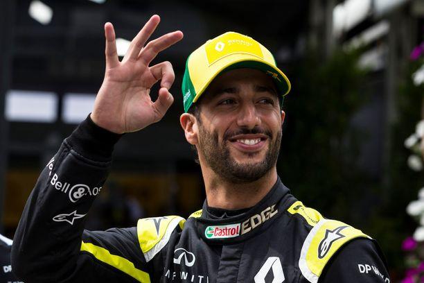 Daniel Ricciardon pesti Renault'lla jäi kahden kauden mittaiseksi.