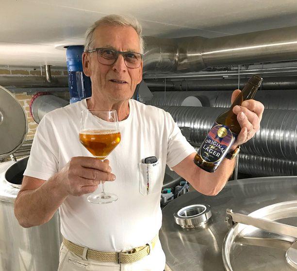 Leo Andelinin kehittämä Original 1964 lager pannaan täsmälleen samalla reseptillä kuin 1960-luvulla.