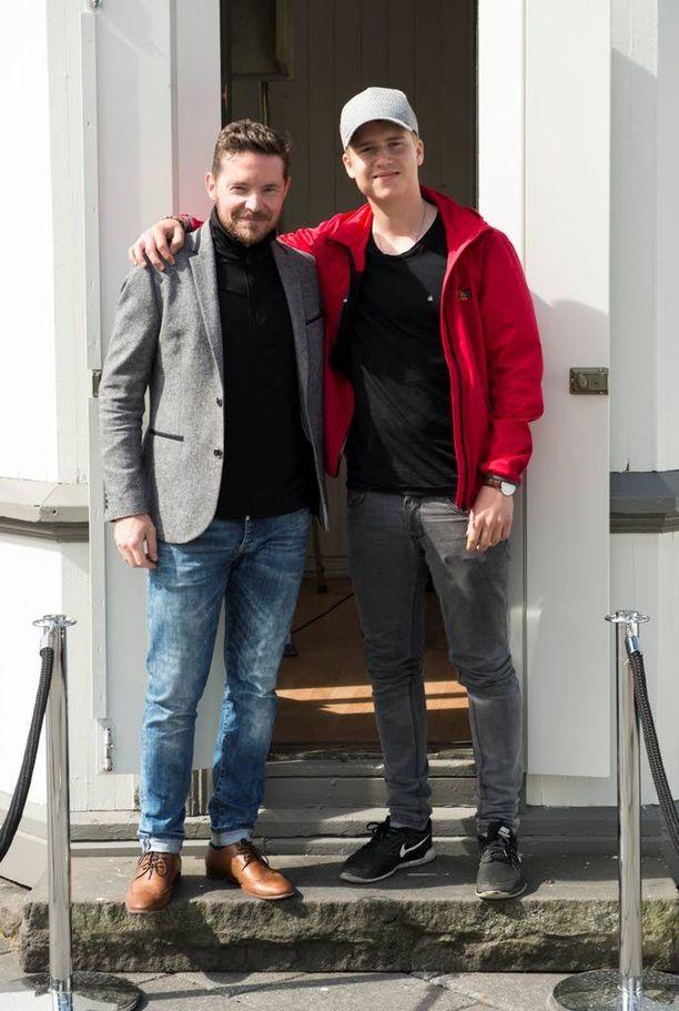 Haraldur Fannar Arngrímsson ja Arnar Ilar Arnthorsson uskovat Islannin mahdollisuuksiin voittaa Ranska kotiedusta huolimatta.
