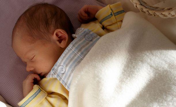 Viime vuonna syntyi yhtä paljon lapsia kuin katovuonna.