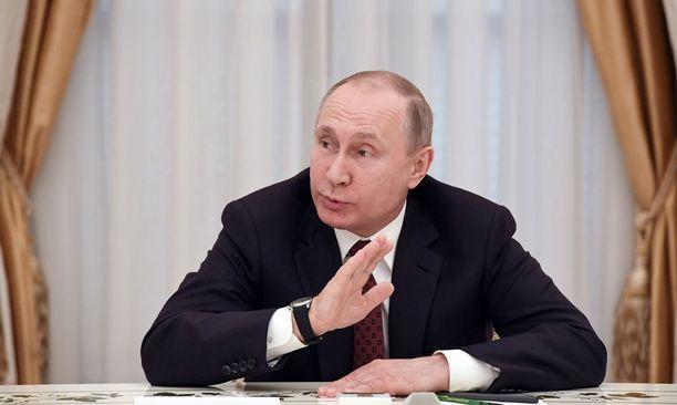 Vladimir Putinia verrattiin Hitleriin.
