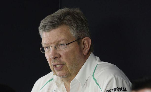 Ross Brawnilla oli osansa Michael Schumacherin kaikissa maailmanmestaruuksissa.