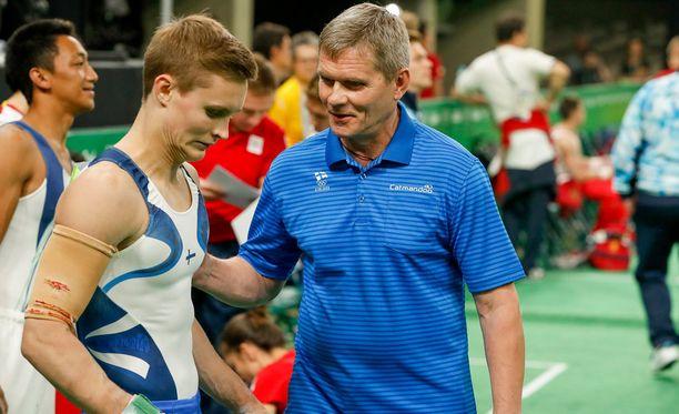 Oskar Kirmeksen olympiaurakka päättyi kuusiottelussa karsiutumiseen finaalista.