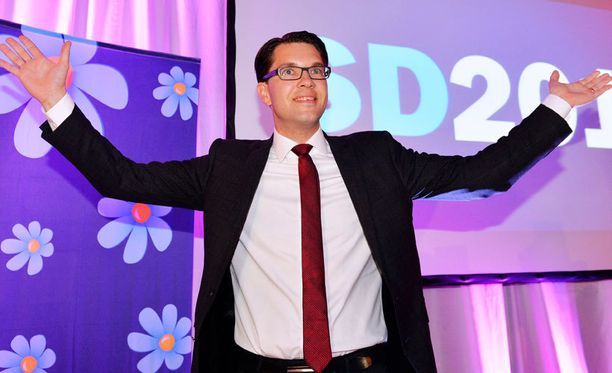 Jimmie Åkesson on johtanut SD:tä vuodesta 2005 lähtien.