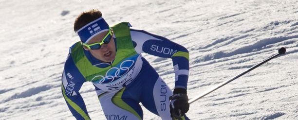 Sami Jauhojärvi säästi itseään ensi viikon koitoksiin.
