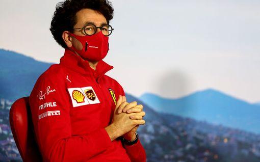 """Ferrari-pomo selitti epäonnistumisen taustoja - uudet säännöt veivät porua aiheuttaneen edun: """"menetimme osan tehoistamme"""""""